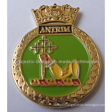Customized Lapel Pin Plating Gold & Soft Enamel (MJ-PIN-132)