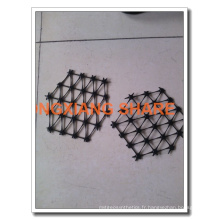 Polissage au tissu de polissage en tricot Polyester / géogrille pour animaux de compagnie 60-30 80-30 100-30 120-30 150-30 200-30 400-30 La plus grande usine