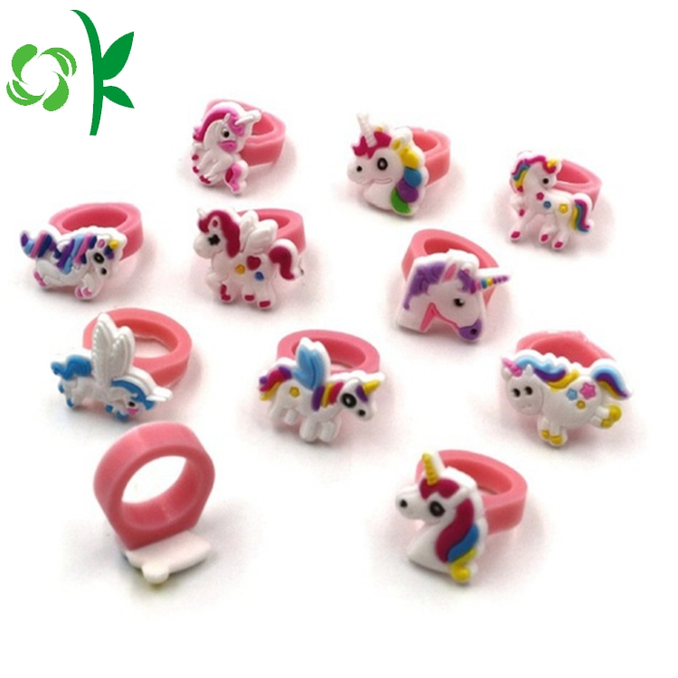 3d Cartoon Rings For Kids