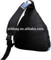 Outdoor Sling Bag Chest Pack Foldable Chest Bag Cross Body Bag with Adjustable Shoulder Strap for Cycling Hiking Camping Travel
