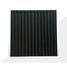 Filtro de aire de carbón activado plegable