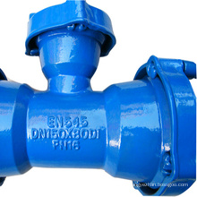 Mechanical Joint Fitting Ductile Iron Flange pipe Fitting Water Pressure Flange pipe Fittings