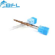 Cortador de trituração contínuo do nariz da bola do atarraxamento do carboneto das ferramentas de máquina de BFL- CNC