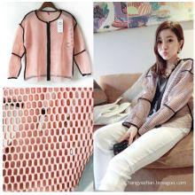 Warp tricotado confortável alta respirável poliéster 3D Air Mesh tecido para vestuário