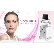 Hifu focalisé d'ultrason de haute intensité pour le levage de peau de visage et le retrait de ride