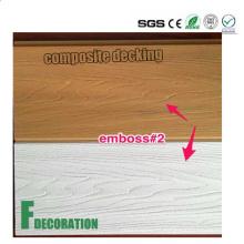 Co-Extrusion Madera Compuesto de suelo de plástico al aire libre cubierta de WPC