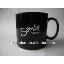Taza grande y gruesa de cerámica de Haonai 23oz con el logotipo de encargo