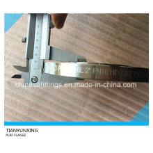 DIN2543 Pn16 Plaque Acier inoxydable F316L Bride