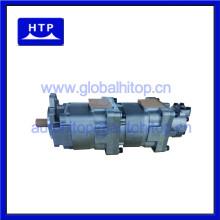 pompe à engrenages hydraulique 705-55-33080 pour komatsu