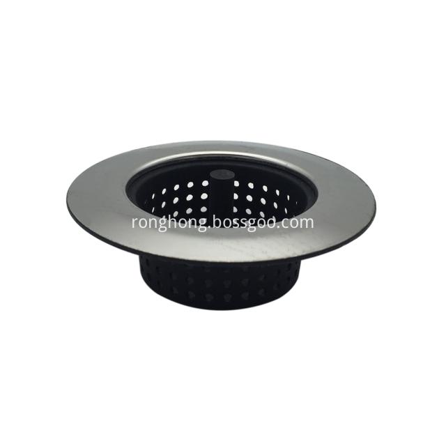 Flexible Silicone Good Grip Kitchen Sink Strainer 1
