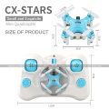 CHEERSON CX-Stars CXStars Quadcopter 2.4G RC 4CH 6-axis Micro 3CM Rc Mini Drone With LED Lights RTF SJY-CX-STARS