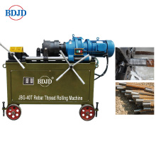 JBG-40T Rebar mekanikal splicing thread rolling machine