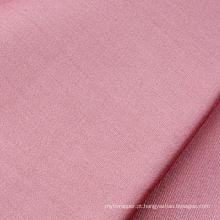Tecido de cetim de algodão branqueado e tingido 300T