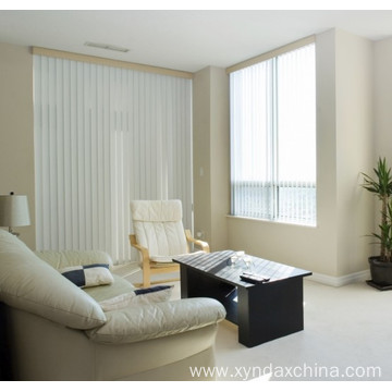 white slatted blinds for sliding glass door