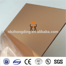 1.5mm orange frosted PC polycarbonate sheet