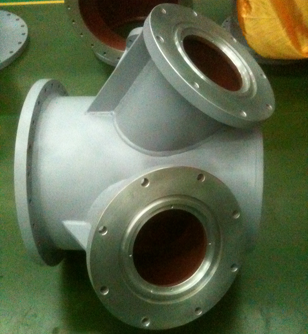 cast aluminium housing