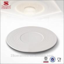 Großhandelshochzeitsgeschirreinzelteile, weiße Porzellanplatte