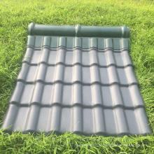 folha de telhado revestida ASA barato para casa pré-fabricada