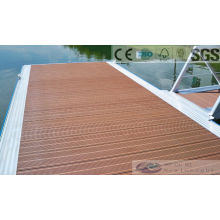 146*30mm Wood Plastic Composite Decking with SGS, Fsc, CE Certificate