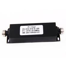 210-215 mhz NF NJ High Pass Band parada activa potencia rf cavidad catv paso bajo filtro