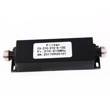 210-215 mhz NF NJ Passa Alta Banda Parar de potência ativa rf cavidade catv low pass filter