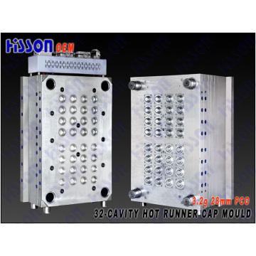 32-Cavity 28mm Pco Bpf Plastic Cap Injection Mold