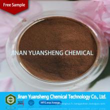 Sulfonate de lignine de sodium pour l'agent de liaison dans l'industrie céramique / réfractaire / d'alimentation