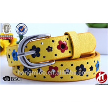 Cool children flower belts cute girls belt