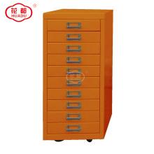Гладильная профессиональная фабрика современной гостиной мебельный щит 10 ящик шкаф для хранения с колеса