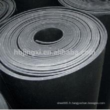 feuille de caoutchouc inséré par usine de prix usine