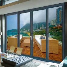 Puerta de vidrio corrediza de aluminio resistente (FT-D190)