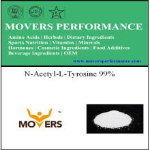 Высококачественный N-ацетил-L-тирозин 537-55-3 99%