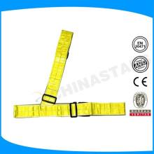 EN471 Reflektierende Sicherheit Taillengürtel mit PVC-Klebeband