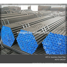 Fabricante en Cangzhou Tubería de acero inconsútil de la tubería de acero de carbono ASTM A53 / A106 GR.B