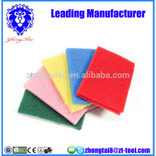 almofada de limpeza colorida não-zero
