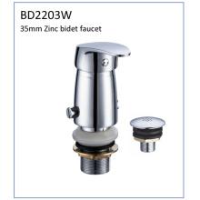 Bd2203W 35mm Zinc solo palanca bidet grifo para América del Sur