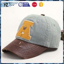 Nueva gorra de béisbol del precio bajo de la llegada con la luz llevada incorporada para la venta al por mayor