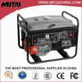 5kw-200A Portable gasolina Powered máquina de gerador de soldagem