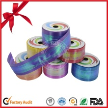 Holographic Craft Metallic Surface Ribbon Roll