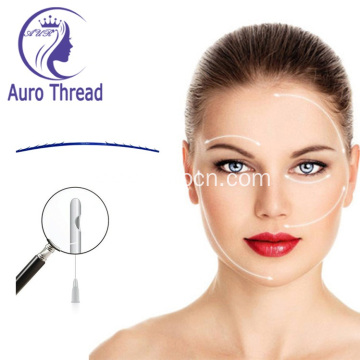 Facial lifting pdo thread tornado needle