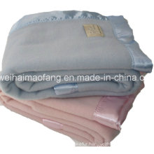 Woven Woolen 100%Pure Virgin New Wool Hotel Blanket
