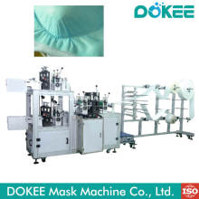 Máquina de fabricación de tapas de mascarillas desechables