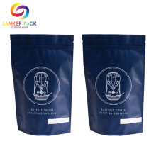 Aluminium Foil Ziplock Coffee Bag One Way Valve