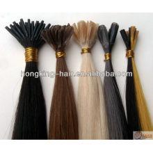 Хорошие отзывы о продаже 100% человеческих волос Remy микро-кольцо наращивание волос