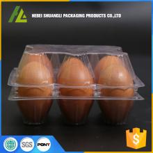 सीपी छाला प्लास्टिक चिकन अंडे की ट्रे