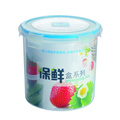 2300 ml Plastic Food Container Round Shape Tall