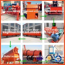 Línea de producción de fertilizantes orgánicos en venta