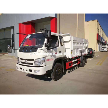 SFC garbage truck compression docking refuse collector