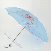 """Beste Qualität 21 """"Einzelperson verwenden 4 Falten Regenschirm (YS4F0011)"""