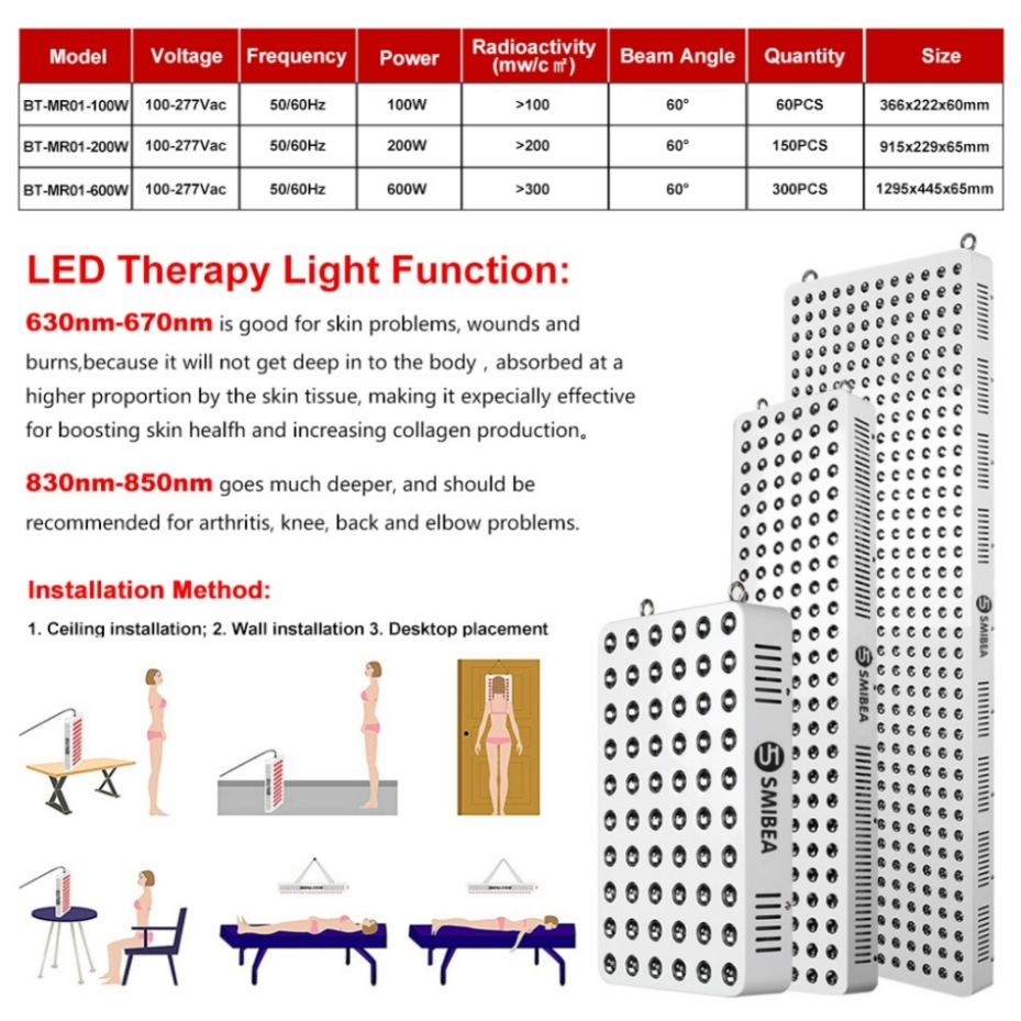 2020 New Design Low Level Laser Therapy Lamp